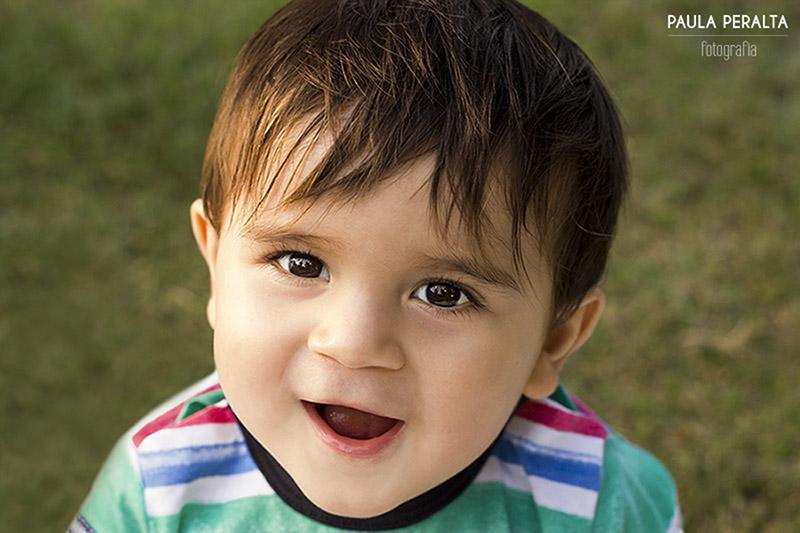 Sesión de fotos a bebé de 1 año