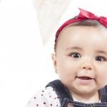 Book en estudio a bebé de 7 meses