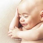 Book de fotos a bebé de 2 meses
