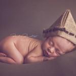 Fotos estilo newborn a bebé de 9 días