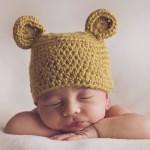 Sesión de fotos a bebé de 12 días