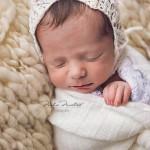 Fotos a recién nacido de 12 días