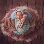 Sesión de fotos a bebe de 12 días