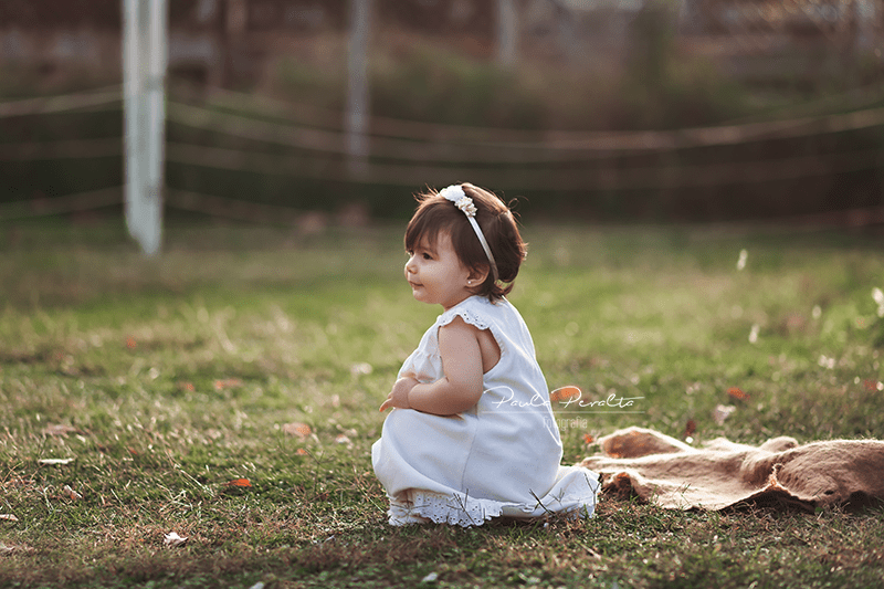 sesion de fotos nena 1 año en exteriores