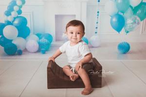 book de fotos nene 1 año en estudio