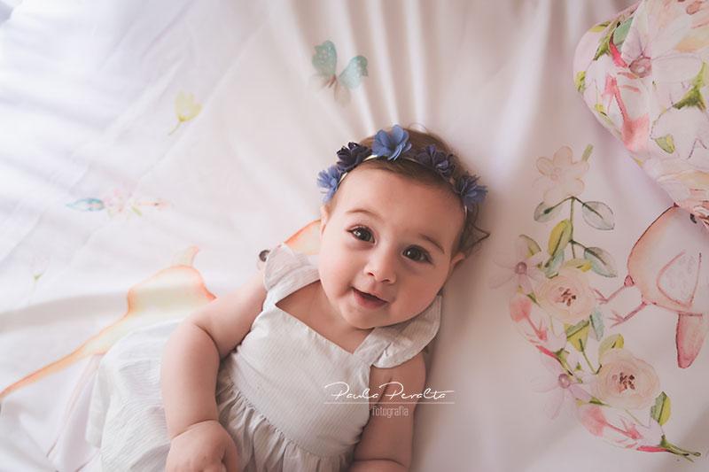 sesion de fotos para bebés de 9 meses en casa