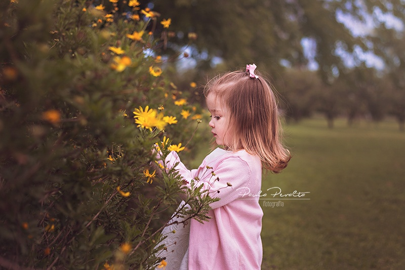 book de fotos profesional para nena